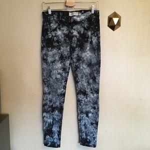Textile Elizabeth & James Deb Tie Dye Skinny Jeans